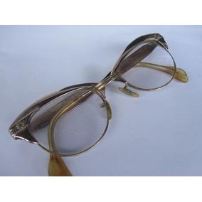 da93ac4ad5209 Linda Armação Óculos Gatinha Anos 50 60 Gaspari Alumínio