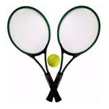 Kit 2 Raquetes De Tenis + Capa E 1 Bola Marca Western