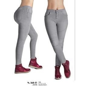 Gris Dama 36851 Jeans Cklass Talla 7 Stretch Mezclilla gxEE4Xw0