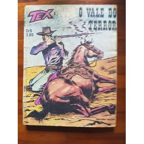 Tex ! Nº 5 ! O Vale Do Terror ! Vecchi - 2ª Edição