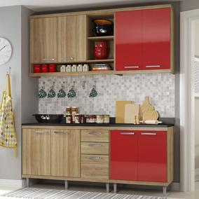 Cozinha Compacta 8 Portas Para Pia Com Balcão 5818