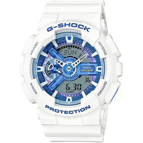 2e9bfaa1376 Relógio Casio G Shock Branco Réplica Azul Outro - Relógios De Pulso ...