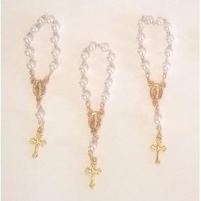 20 Mini Tercinhos Dourado - Lembrancinha Batizado, Casamento