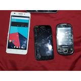 Huawei Ascend G620s +motorola Atrix + Samsung I5500 Remato