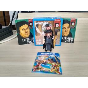 Boneco Playmobil Martinho Lutero-lacrado Na Caixa (novo)