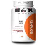 Whey Iso 900g Max Titanium Proteina Isolada