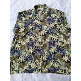 Camisa Tommy Bahama Talla 2xl (hawaiiana,floreada,playa,moda