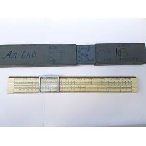 Régua De Cálculos Russa Deslizante Made In Ucrânia 1953