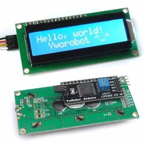 Display Lcd Lcd1602 + I2c 1602 Lcd Soldado Arduino Pcf8574