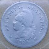 Moneda 10 Centavos 1935 (5 Recto!!!)