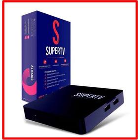 Supertv Smart Tvbox Blue Reprodutor De Mídia