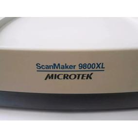 Scanner Microtek Scanmaker 9800xl Tma 1600 Usado Original