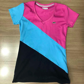 Camiseta Lacoste Feminina - Calçados, Roupas e Bolsas no Mercado ... 8b9b92c1da