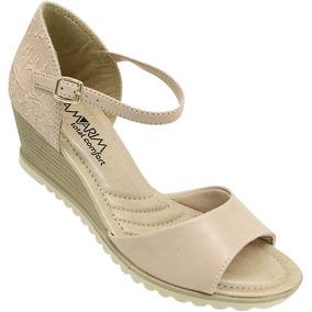 8b1abdbe85 Sandalia Feminina Anabela Ramarim - Sapatos no Mercado Livre Brasil