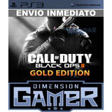 Call Of Duty Black Ops 2 Gold Edition Ps3 - Licencia Digital