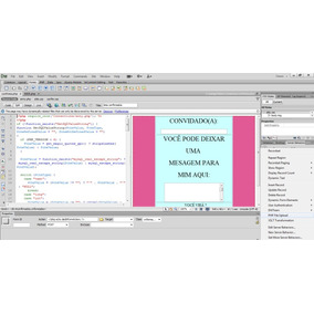Php File Upload Extensão Para O Dreamweaver Cs6