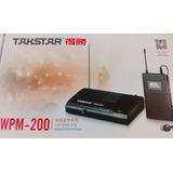 Sistema De Monitoreo Inalambrico Wpm200 Takstar 6 Canales
