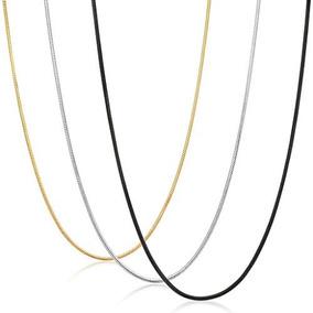 Fibo Steel 0.9mm De Acero Inoxidable Para Mujer Collar De Ca