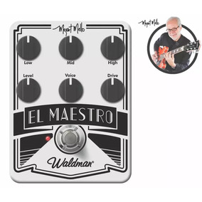 Pedal Waldman Distortion El Maestro - Mm-6fx - Novo!!