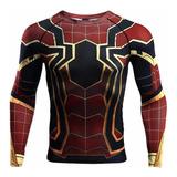 Camisetas Vengadores Lycra Marvel Superman,capitan,spiderman