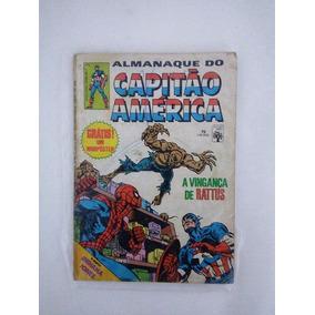 Hq Almanaque Do Capitão América Nº 75 Ed Abril