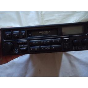 Radio Toca Fitas Antigo Do Carro Honda Funcionando