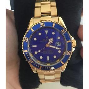 Relógio Masculino Aço Pulseira Prata / Dourado Aço