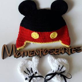 Toca De Croche Do Mickey - Conjuntos Infantis no Mercado Livre Brasil 1fbdf933996