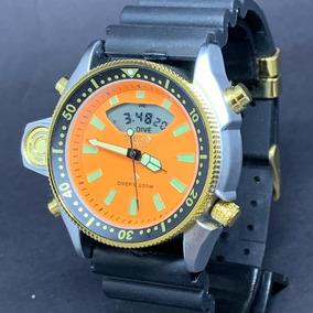 2232a90d0aa Pulseira Aqualand Laranja - Joias e Relógios no Mercado Livre Brasil