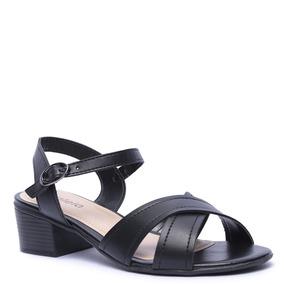 e3d836efa8 Sapato Preto Salto Grosso De Feminino Azaleia - Sapatos no Mercado ...