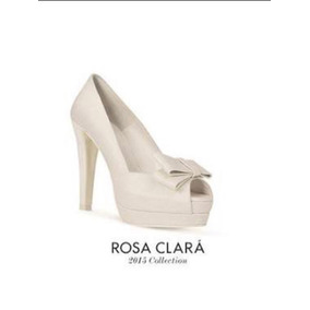5mx Novia Rosa Piel Zapatos Clará De X06wxHC