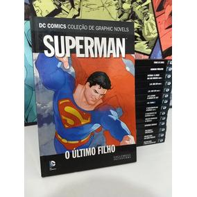 Colecao Graphic Novel Superma O Ultimo Filho Frete Gratis