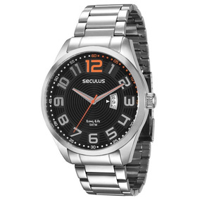 Relógio Seculus Masculino Analógico 28534g0sgna2