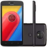 Smartphone Motorola Moto C 8gb Dual Xt1750 / Preto