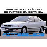 Manual Despiece Catalogo Toyota Corona 1992 - 1996 Español
