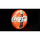 Antigua Cartel Coca-cola Luminoso Vintage