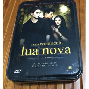 Box Filme Lua Nova , Dvd , Camisa , Poster , Cards (lata)
