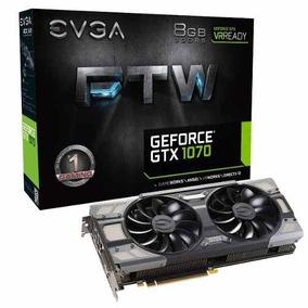 Placa De Video Evga Nvidia Geforce Gtx 1070 Ftw Gaming 8gb
