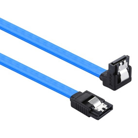 26awg Sata 3 7 Pin Female Straight To Elbow Data Cable