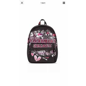 Victorias Secret Back Pack Grafitty Negra