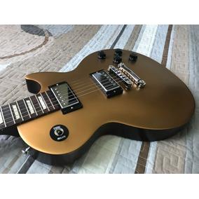 Guitarra Gibson Les Paul 60s Tribute Made In U. S. A. Gold
