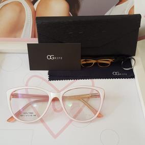 Armacao Oculos De Grau Rose - Óculos no Mercado Livre Brasil 253c9a8266
