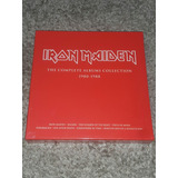 Iron Maiden Box Vermelho Lacrado 1980-1988 Vinil Lp 180g