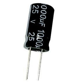 Capacitor Eletrolitico 1000uf X 35v - Lote Com 10 Unidades