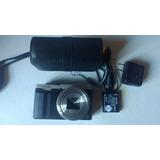 Cámara Digital Panasonic Lumix Dmc-zs50 12.1 Mp 30x Silver