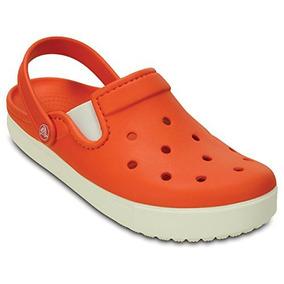 Crocs Unisex Citilane Size 5 D M Us 7 B M Us Wo Tangerine