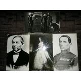 Fotopostales Juarez, Mejia, Carlota Y Maximiliano