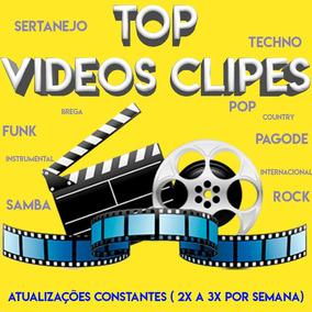 Receba Hoje 150gb 2500 Video Clipes + 2 Anos Atualização