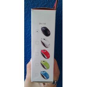 Mouse Usb P/windows Y Mac - Genius Dx-110 Nuevo - Negro