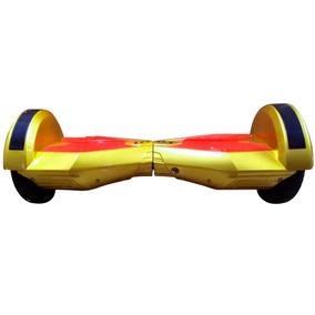 Patineta Electrica Hoverboard Bluetooth Smart 10 Dorado Rojo